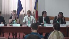 Briefing tehnic susținut de Ministerul Justiției  cu ocazia prezentării concluziilor preliminare ale auditului extern privind implementarea Strategiei Naționale Anticorupție (SNA) 2012-2015
