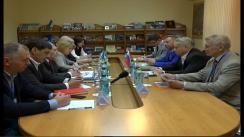 Bălțiul întâlnește o delegație din Sankt-Petersburg sosită cu prilejul Hramului