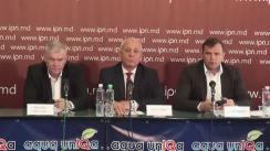 """Conferință de presă susținută de președintele Partidului Platforma Demnitate și Adevăr, Andrei Năstase, cu tema """"Gravele ilegalități de ultimă oră comise de regimul Plahotniuc"""""""