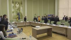 Ședința Consiliului național pentru reforma organelor de ocrotire a normelor de drept