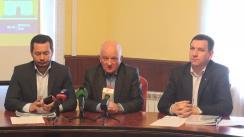 """Conferință de presă organizată de Fracțiunea Blocului Electoral """"PPEM - Iurie Leancă"""" cu privire la reformarea subdiviziunilor din cadrul Consiliului Municipal Chișinău"""