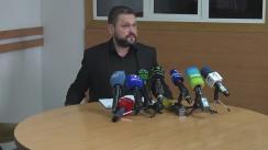 Briefing organizat de Centrul Național Anticorupție privind perchezițiile efectuate astăzi la Primăria municipiului Chișinău