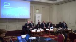 Conferință de presă organizată de Asociația Română a Băncilor cu prilejul celebrării a 25 de ani de activitate