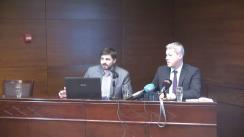 """Conferința-dezbatere """"Perspectiva unui sistem integrat de sănătate în București"""", cu participarea candidatului PNL la Primăria Municipiului București, Cătălin Predoiu"""