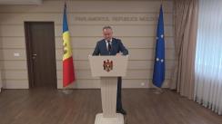 Declarațiile lui Igor Dodon în timpul ședinței Parlamentului Republicii Moldova din 26 mai 2016