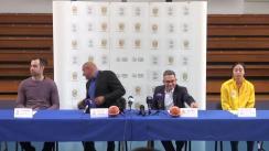 Conferință de presă susținută de Banca Transilvania și Federația Română de Baschet