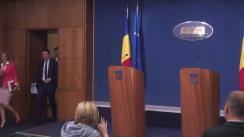 Conferință de presă după ședința Guvernului României din 27 mai 2016