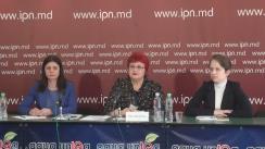 """Conferință de presă susținută de Avocatul Poporului pentru drepturile copilului, Maia Bănărescu, cu tema """"Prioritățile Avocatului Poporului pentru protecția drepturilor copiilor la început de activitate"""""""