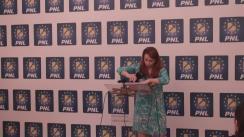 Conferință de presă susținută de prim-vicepreședintele PNL, Cristian Bușoi, și deputatul PNL, Cristina Pocora, candidat pentru Primăria Sectorului 3