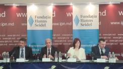 """Dezbateri publice cu tema """"Moldova după Vilnius și Riga: oportunități și provocări pentru următoarea destinație"""""""