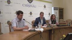 Briefing susținut de consilierii municipali PSRM de anunțare a concursului public de proiecte privind amenajarea zonei Codreanca