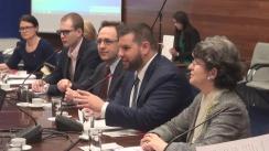 """Masa rotundă """"Migrația economică, efecte asupra familiei și societății"""", organizată de Departamentul Politici pentru Relația cu Românii de Pretutindeni din cadrul Ministerului Afacerilor Externe, în parteneriat cu Asociația Femeilor Românce din Italia"""
