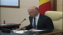 Ședința Guvernului Republicii Moldova din 31 mai 2016