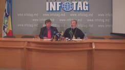 """Conferință de presă susținută de Episcopul de Bălți și Fălești Marchel cu tema """"Responsabilitatea deputaților pentru ocrotirea generației actuale și celor viitoare"""""""