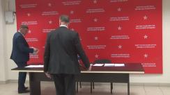 """Conferință de presă susținută de deputații PSRM în Parlamentul Republicii Moldova cu tema """"Diminuarea capacității de apărare a statului. Or, cum se distruge Armata Națională!"""""""