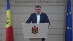 Declarațiile lui Grigore Novac în timpul ședinței Parlamentului Republicii Moldova din 2 iunie 2016