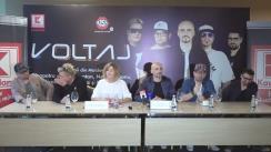 """Conferința de presă cu privire la concertul """"Voltaj și prietenii din Moldova"""""""