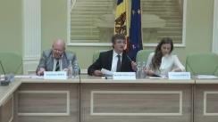 Consultare publică a proiectului Strategiei de Dezvoltare a Sistemului Probațiunii din Republica Moldova pentru perioada 2016 - 2020