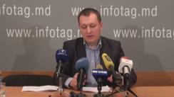 """Conferință de presă susținută de președintele Partidului """"Casa Noastră - Moldova"""" (Blocul Roșu), Grigore Petrenco, cu tema """"Dosarul politic grupul Petrenco: aspecte noi"""""""