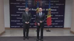 Declarații după ședința de urgență la Guvern privind accidentul aviatic din Cantemir