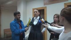 Declarațiile procurorului Adriana Bețișor după ședința de judecată din 3 iunie 2016 în dosarul ex-premierului Vlad Filat