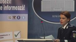 Alegeri Locale 2016: Briefing susținut de purtătorul de cuvânt al MAI, Monica Dajbog, privind desfășurarea alegerilor locale - ora 12.30