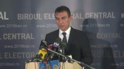 Alegeri Locale 2016: Anunțarea de către Biroul Electoral Central a prezenței la vot până la ora 16.00 la alegerile locale