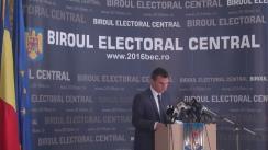 Alegeri Locale 2016: Biroul Electoral Central anunță rezultatele parțiale ale alegerilor din data de 5 iunie 2016