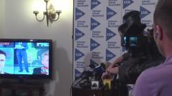Alegeri Locale 2016: Conferință de presă susținută de Nicușor Dan
