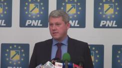 Alegeri Locale 2016: Declarație de presă susținută de candidatul PNL la Primăria Capitalei, Cătălin Predoiu, în urma închiderii secțiilor de votare