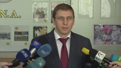 Briefing organizat de Procuratura Anticorupție privind reținerea unui ofițer CNA pentru comiterea traficului de influență