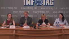 """Conferință de presă cu tema """"Programul Bursa Parlamentară Internațională a Bundestagului german 2017"""""""