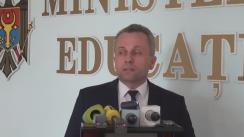Briefing organizat de Ministerul Educației cu ocazia desfășurării celei de-a doua probe de examen din sesiunea de bacalaureat 2016