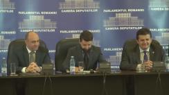 Conferință de presă susținută de deputații Aurelian Mihai și Ioan Iovescu cu ocazia anunțării delegațiilor care vor participa la Congresul românilor de pretutindeni