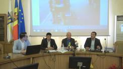 """Conferință de presă organizată de Fracțiunea Blocului Electoral """"PPEM-Iurie Leancă"""" din CMC cu ocazia prezentării totalurilor campaniei TANC (Transport Avansat la Noi în Chișinău)"""