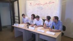 Conferința de presă a Platformei Acțiunea Civică a Tinerilor