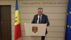 """Briefing susținut de deputații PSRM cu tema """"Chirtoacă și complicii liberali trebuie demiși și trași la raspundere penală"""""""