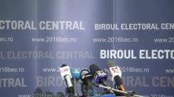Alegeri Locale 2016: Biroul Electoral Central anunță rezultatele parțiale 100% prelucrate pentru alegerile locale din data de 5 iunie 2016, la nivel național