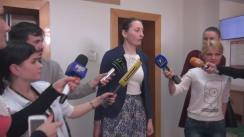 Declarațiile procurorului Adriana Bețișor după ședința de judecată din 9 iunie 2016 în dosarul ex-premierului Vlad Filat