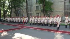 Ceremonia oficială de întâmpinare a prim-ministrului Republicii Cehe, Bohuslav Sobotka, de către premierul Republicii Moldova, Pavel Filip