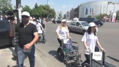 Marșul persoanelor cu dizabilități