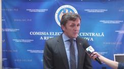 Declarațiile lui Iurie Ciocan după ședința Comisiei Electorale Centrale din 14 iunie 2016