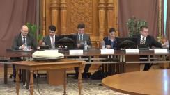 """Dezbaterea cu tema """"Acordul de Parteneriat Transatlantic pentru Comerț și Investiții (TTIP) și impactul asupra României"""""""