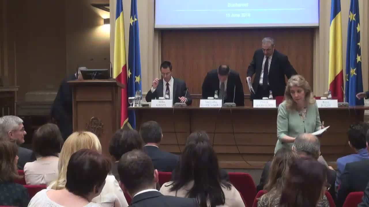 "Seminarul internațional ""Regional High-Level Workshop on NPLs Resolution"""