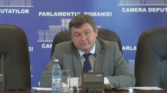 Conferință de presă susținută de deputatul neafiliat, Octavian-Marius Popa