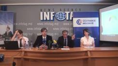 """Conferință de presă organizată de CCIFM, MDW și Magenta Consulting cu tema """"Barometrul de afaceri din Moldova"""""""