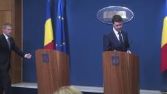 Conferință de presă susținută de premierul Dacian Cioloș după ședința Guvernului României din 16 iunie 2016