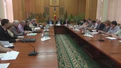 Ședința Comisiei naționale pentru consultări și negocieri colective din 16 iunie 2016
