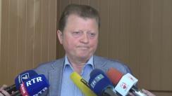 Declarațiile lui Vladimir Țurcan după consultările publice asupra proiectului Legii cu privire la completarea Codului electoral referitor la alegerile Președintelui