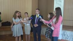 Declarațiile lui Sergiu Sîrbu după consultările publice asupra proiectului Legii cu privire la completarea Codului electoral referitor la alegerile Președintelui